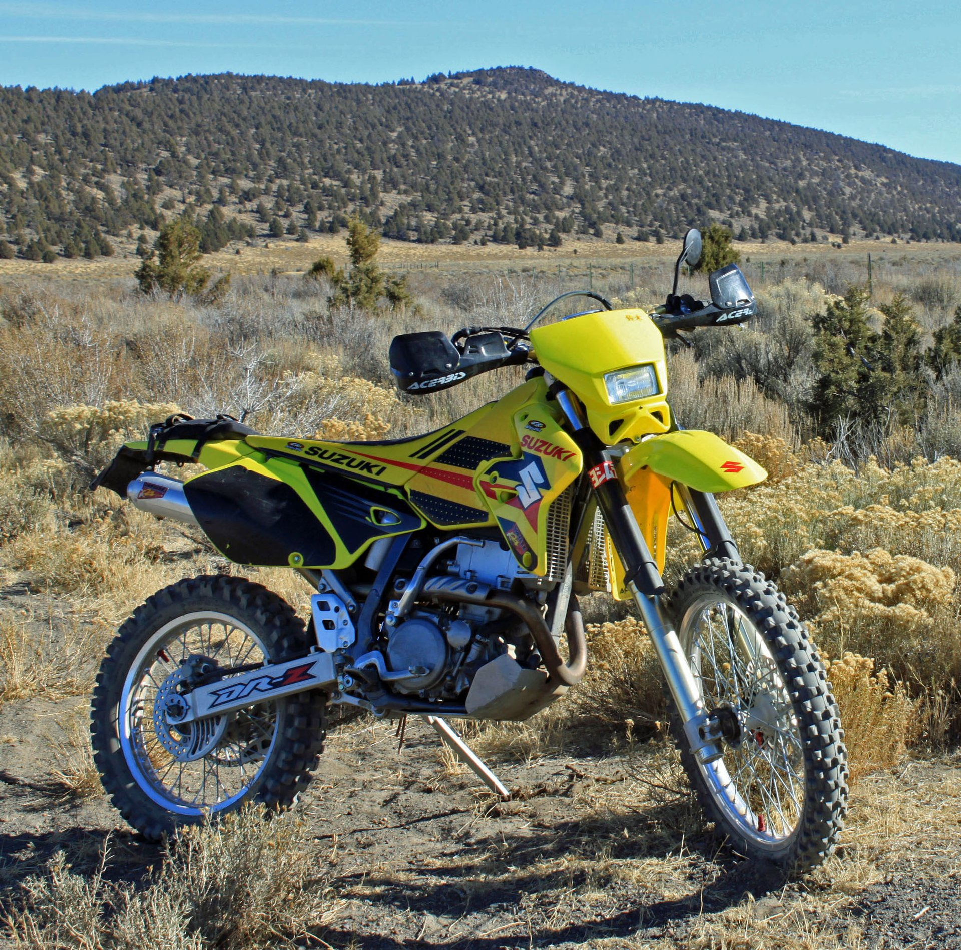 Suzuki Drz Dirt Bike