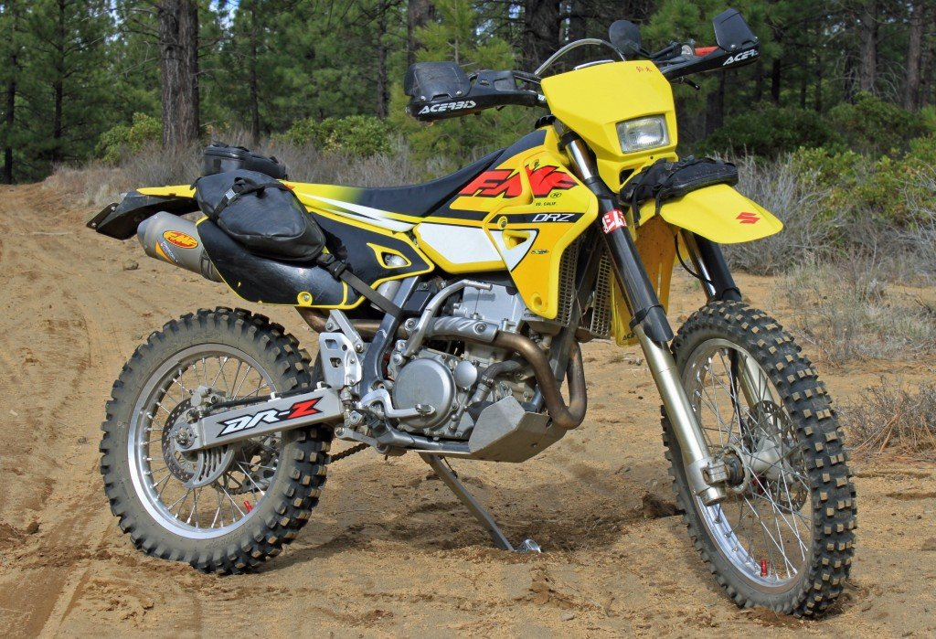 2002 drz400 review