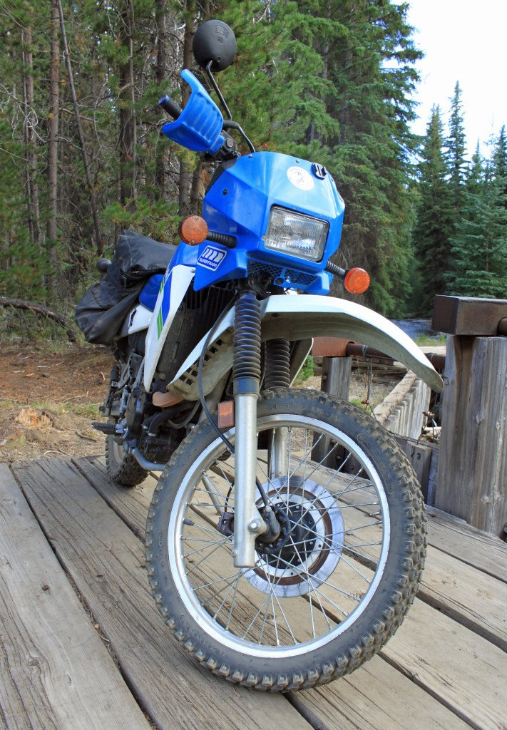 1990 kawasaki KLR650 review