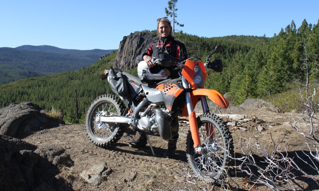 2009 KTM 200 XCW dual sport review