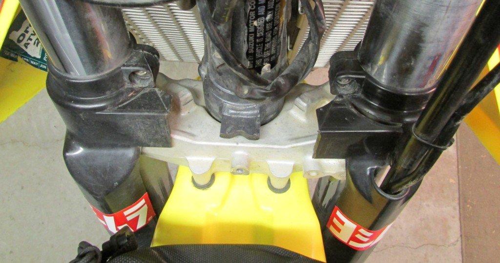 KTM fork protectors for DRZ400