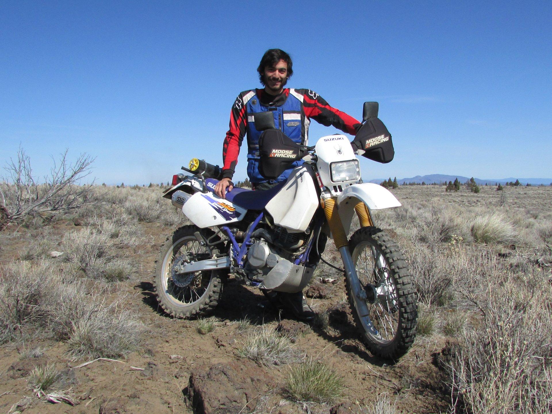 Christopher Luis 1996 Suzuki Dr350 Dual Sport Alchemy