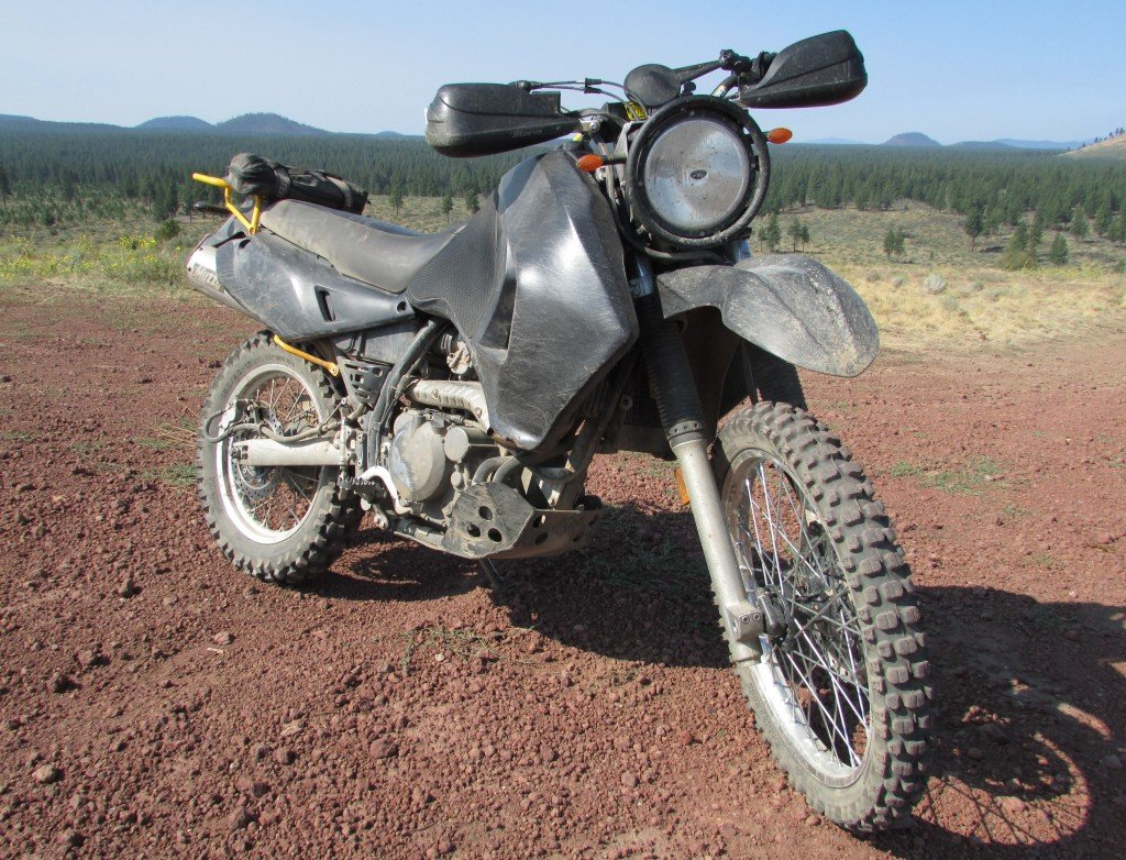 2009 Kawasaki KLR650 review with performance upgrades and modifications
