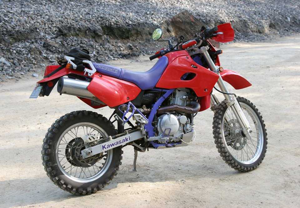 1995 Kawasaki KLX650 review