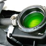 how to test check dual sport motorcycle coolant antifreeze