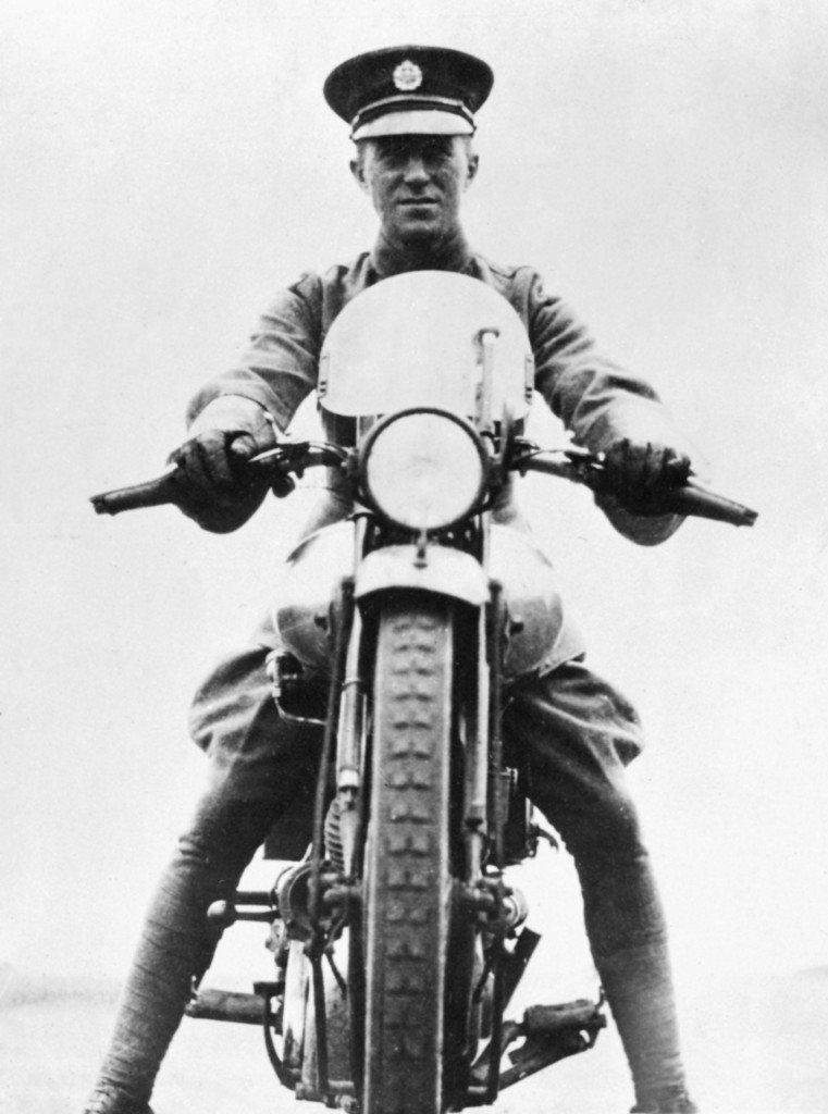 The original dual sport rider