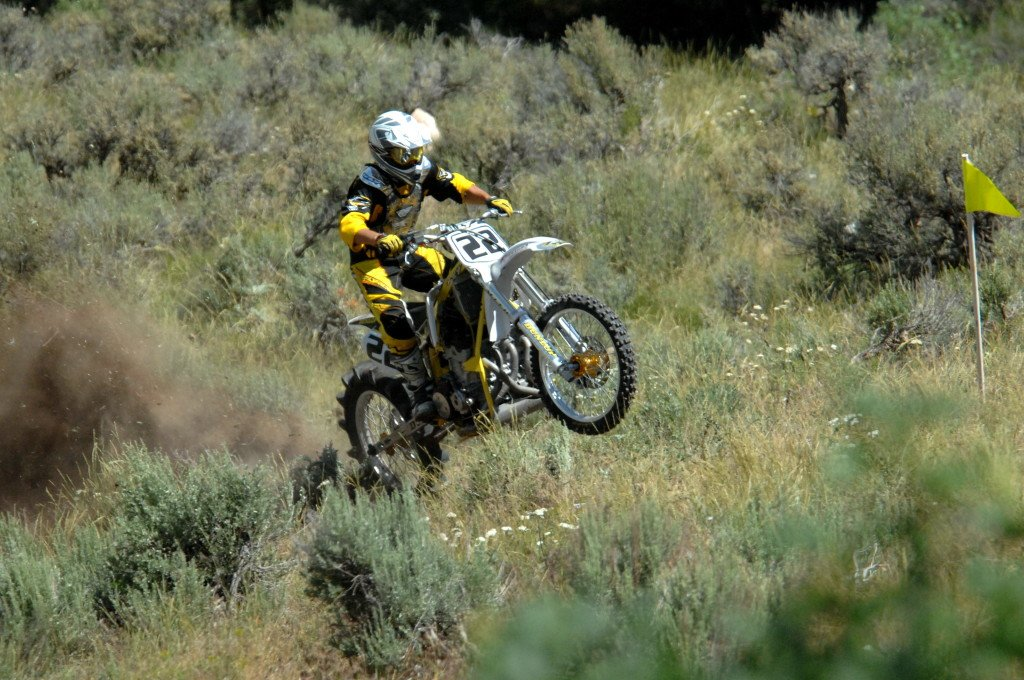 how to hill climb with a dual sport