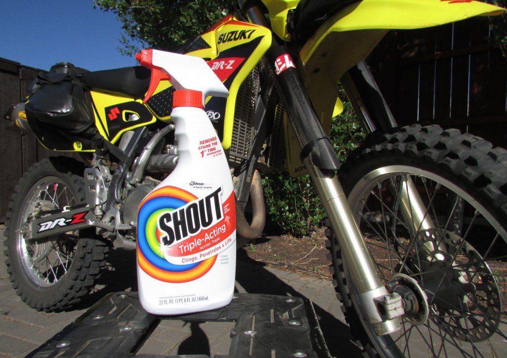 best way to wash a dual sport motorcycle