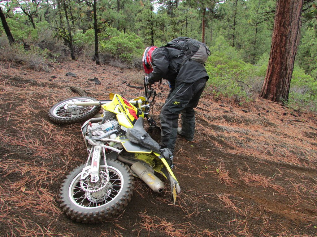 avoiding motorcycle target fixation