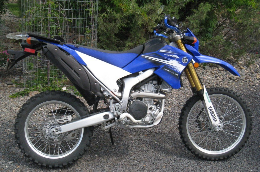 yamaha WR250R exhaust gut modification