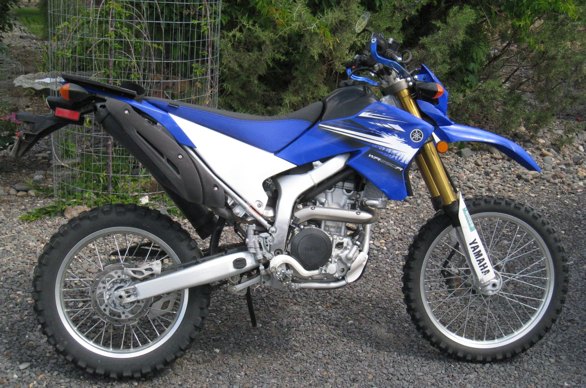 Frank's 2012 Yamaha WR250R Exhaust Modification — Dual Sport